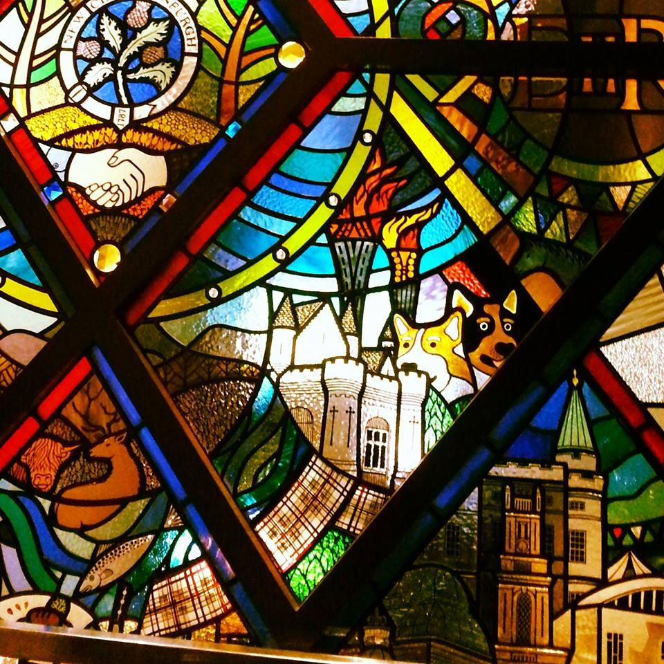 The Jubilee Window, The New Club, Edinburgh