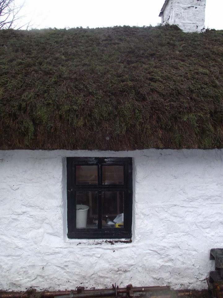 Glencoe Folk Museum in the Scottish Highlands.