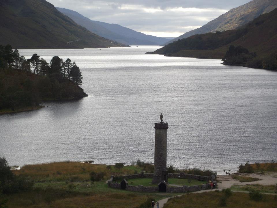Glenfinnan Monument, National Trust Scotland.