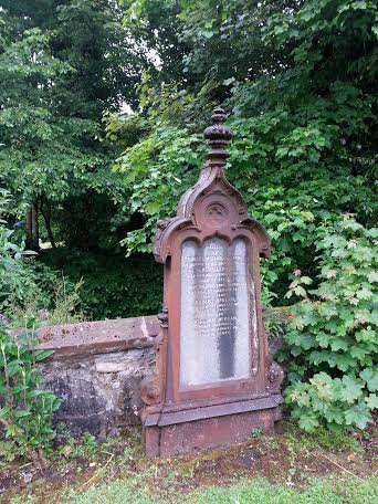 Ironwork grave covering. If anyone can tell us more about these, please do get in touch!