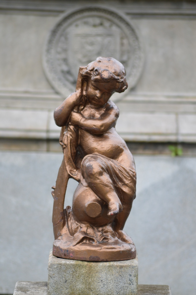 Stewart Memorial Fountain Cherub 1. 16.6.15